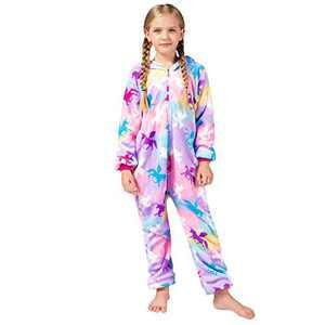 Girls Onesie Pajamas, Animal Cosplay Costume for Kids