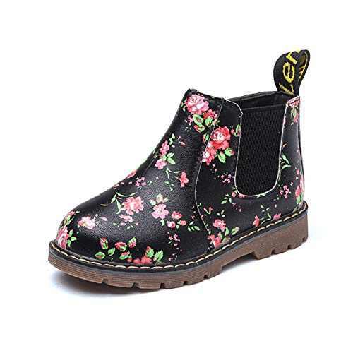 TTMOW Boy's Girl's Waterproof Side Zipper Ankle Chelsea Boots