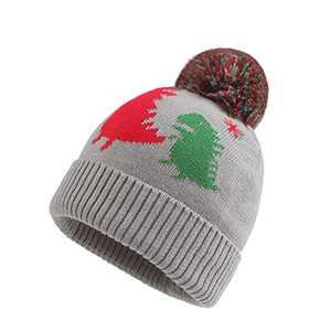 FUOITA Baby Boy Winter Hat Newborn Dianosaur Pompom Beanie Warm Knitted Toddler Caps
