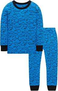 Pajamas For Boys Kids Christmas Sharks Pyajamas Children Gift Pants Set 5t
