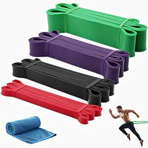 Resistance Bands Exercise Workout Bands Pull up Assist Bands Stretch Heavy Duty Bands for Body Stretching Mobility Powerlifting Bands