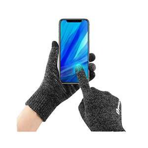 Bymore Winter Gloves for Woman and Men Touch Screen Elastic Knit Gloves Anti-Slip