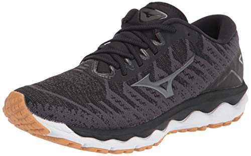 Mizuno Women's Wave Sky 4 WAVEKNIT Running Shoe, Dark Shadow, 10.5 D US