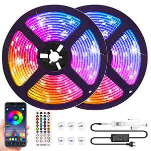 LED Strip Lights,32.8ft Bluetooth Led Light Strip with App,RGB Strip Lights That Can Change Color with Music,Remote App Control Lighting Kit for Bedroom,Bar, Living Room, Kitchen Lights Decor