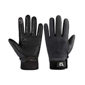 DDBO Cycling Gloves, Waterproof Touchscreen in Winter Outdoor Bike Ski Gloves for Men Women
