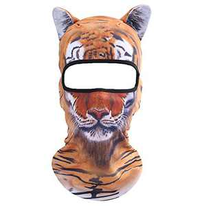 Koolip Cat Balaclava,Dog Balaclava,Halloween Hat,Cute Full Face Hood Mask Animal Ski Mask for Hiking Riding Sports Outdoor (BB-G-05)