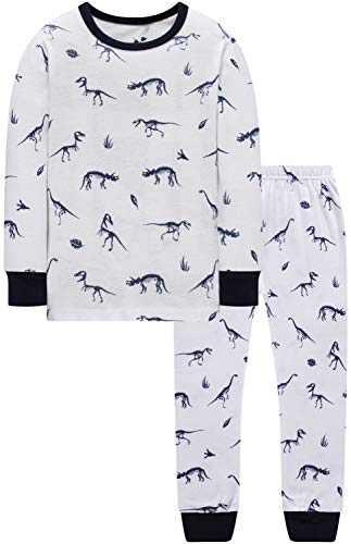 Boys Pajamas Christmas Baby Dinosaurs Clothes Kid Children Cartoon PJs Gift Set Sleepwear 3t
