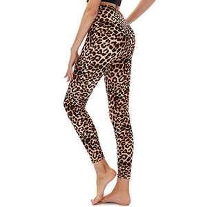 TNNZEET High Waisted Printed Leggings for Women - Buttery Soft Pattern Ankle Pants for Yoga Workout Daily Regular & Plus
