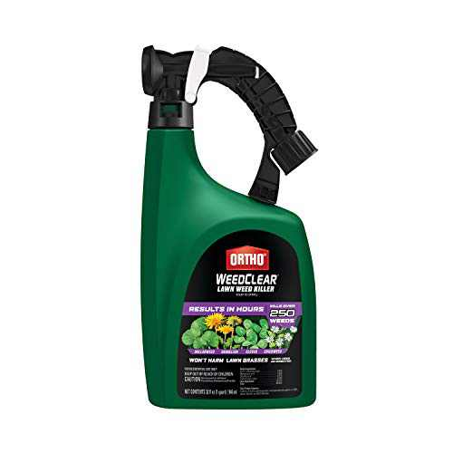 Ortho WeedClear Lawn Weed Killer Ready to Spray3: For Southern Lawns, 32 oz.
