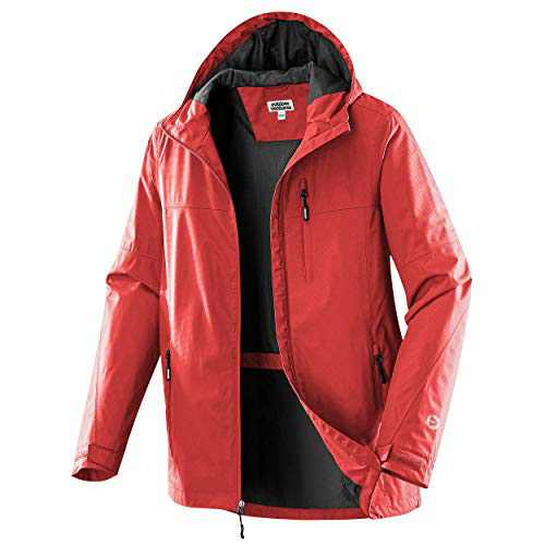 Outdoor Ventures Men's Packable Rain Jacket Waterproof Windbreaker Lightweight Raincoat with Hood