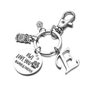 Owl Gifts Owl Always Love You Keychain Christmas Gifts for Boyfriend Wife