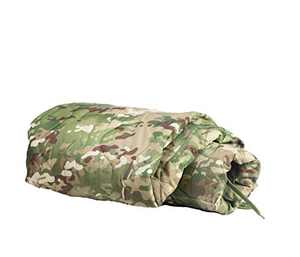 Farm Blue Tactical Camping Military Blanket - Woobie Poncho Liner - Lightweight Multifunctional All Weather Blanket Perfect for Camping Backpacking and Other Outdoor Activities - Jungle Camo