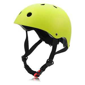 FerDIM Skateboard Helmet Adjustable, Bike Helmet Kids Youth Adult CPSC Certified, for Skate Skateboarding Longboard Scooter Skating Skiing Rollerblade Hoverboard with Soft Chin Pad