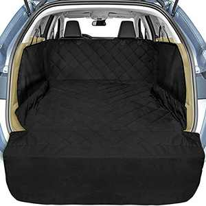 Cargo Liner, Veckle SUV Cargo Liner for Dogs with Side Flaps Hammock Waterproof Nonslip Dog Seat Cover Cargo Area Protector Scratchproof for SUVs Sedans Vans