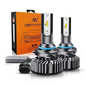 SDKEI 9006 HB4 LED Headlight Bulbs,100W High Power 11000Lm 6000K Cool White Extremely Bright ZES Chips All-in-one Conversion Kits