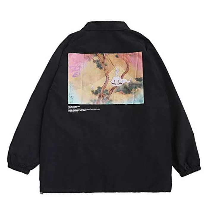 Kanye Kids See Ghosts Jacket Coat