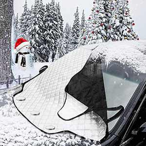 Car Ice Snow Shield Windshield Snow Cover Anti-Freezing, Anti-dust, Thick and Anti-Scratch, with Magnet Easy to Use & Fits Most Car(72ln×45ln, 0.88lb)