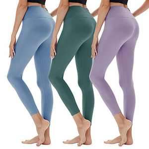 YOLIX High Waitsed Leggings for Women, Super Soft Slim Womens Pants for Yoga Workout Running Athletic