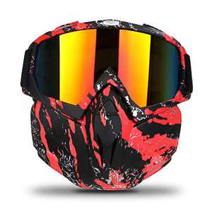 Freehawk Motorcycle Goggle Mask Detachable Snowmobile Off-road Riding Goggles