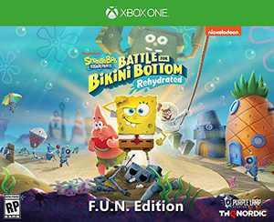 SpongeBob SquarePants: Battle for Bikini Bottom - Rehydrated - F.U.N. Edition (Xbox One) - Xbox One F.U.N. Edition Edition