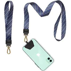 Lanyard for Keys, COCASES Phone Lanyard and Wrist Lanyard Set Neck Straps for ID Badge and iPhone, Galaxy & Most Smartphones