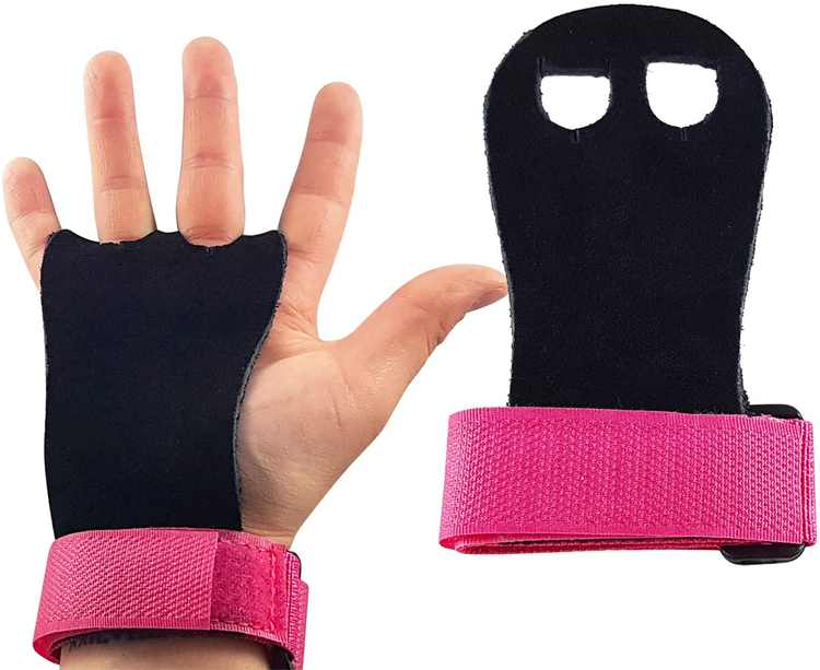 CZ Store Children's Leather Gym Gloves ✮✮LIFETIME GUARANTEED✮✮- Protective Workout Grips for Hand, Palm, Wrist - Kid's Sports & Fitness Accessories for Gymnastics, CrossFit, Weights
