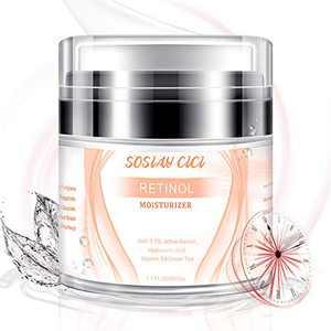 Face Moisturizer for Women - Retinol Moisturizer Cream Anti Wrinkle Cream- Eye Cream Facial Moisturizer with Active Retinol 2.5%, Day And Night Cream for Face 1.7 fl oz