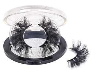 25mm Lashes Mink 1 Pair False Eyelashes Dramatic Look Lashes 25mm HICOCU…