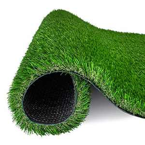 AMASKY Artificial Grass Turf 4 Tone Synthetic Artificial Turf Rug for Dog Indoor Outdoor Garden Lawn Patio Balcony Synthetic Turf Mat for Pets (2.3 ft x 3.3 ft=7.59 sq ft)