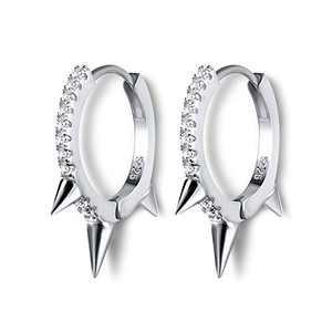 Hoop Earrings for Women, 9mm 14K Gold Plated Earrings for Women Small Lightweight Colorful Hoop Hypoallergenic Cartilage Huggie Earrings for Girls