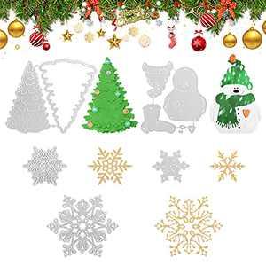 Finetoknow Snowman Metal Cutting Dies Scrapbook Paper Craft Christmas Emboss Punch Stencil Mold