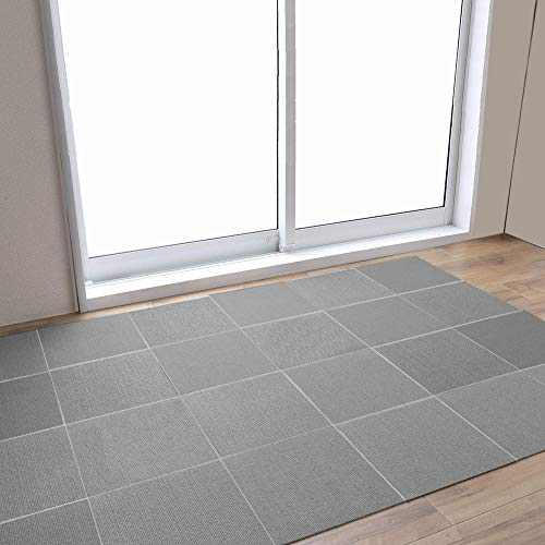 Dog Non-Slip Treads Mat, Self-Adhering Removable Washable Step Rugs Floor Protector for Skid Indoor Surfaces- Set of 30