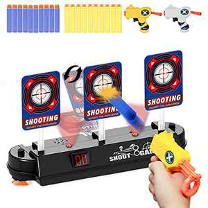 HONGKIT Toy Guns for Boys Age 5,Outdoor Toys for Kids Ages 4-8 Shooting Targets Foam Nerf Bullets Nerf Guns for Boys 5 Years Old 2020 Shooting Games for 7 Year Od Girl Birthday Gifts