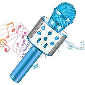 SEPHIX Musical Toys for 4-12 Year Old Boys Gifts, Children Bluetooth Karaoke Singing Microphone for Kids Toys Age 11 10 9 8 7 6 Year Old Boys Birthday Gifts for 8 7 6 5 4 Year Old Boys Christmas Girls