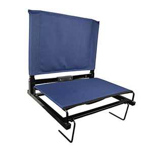 YEP HHO Stadium Grandstand Comfort Seats Bleacher Chairs with Backs and Cushion, Folding & Portable, Bonus Shoulder Straps