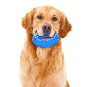 NWK Pet Product Freezable Cooling Teether Chew Toy for Puppies (Ring)