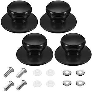Boao Pot Lid Knobs, Pot Lid Cover Knob Handle, Kitchen Cookware Lid Replacement Knobs Replacement Set (4)