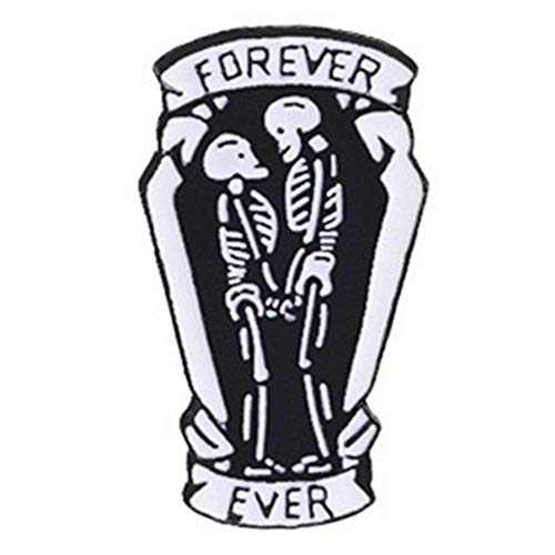 Enamel Pin Brooch Badges for Clothes Bag Lapel Coffin Ferver Ever