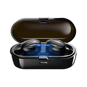 XIQWA Bluetooth Headphones,True Wireless Earbuds Bluetooth with Charging Case,Built in Mic Bluetooth Headset,Binaural Call in-Ear Buds,15H Playtime,Ipx5 Waterproof Deep Bass for Sport