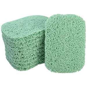 Nydotd 10 Pack Soap Saver, Soap Dish Soap Holder Accessory PVC Premium Material Non-Slip Soap Dishes Holder Soap Pad Bathroom Accessories (Sage Green)