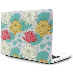 OneGET Laptop Case for MacBook Pro16 Inch Case with Touch Bar Touch ID 2019 Release A2141 with Retina Display Retro Fashion MacBook Pro16 Inch Hard Case Flowers (F6)