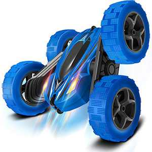 Remote Control Car RC Cars - Drift High Speed Off Road Stunt Truck, Race Toy with 2 Rechargeable Batteries, 4 Wheel Drive, Cool Birthday Gifts for Boys Age 6 7 8 9 10 11 Year Old Kids Toys