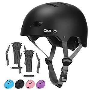 GROTTICO Toddler-Kids-Bike-Skate-Helmet for Boys Girls, Muti-Sport for Scooter Skateboard Helmet, Adjustable for 2-14 Years Older Children
