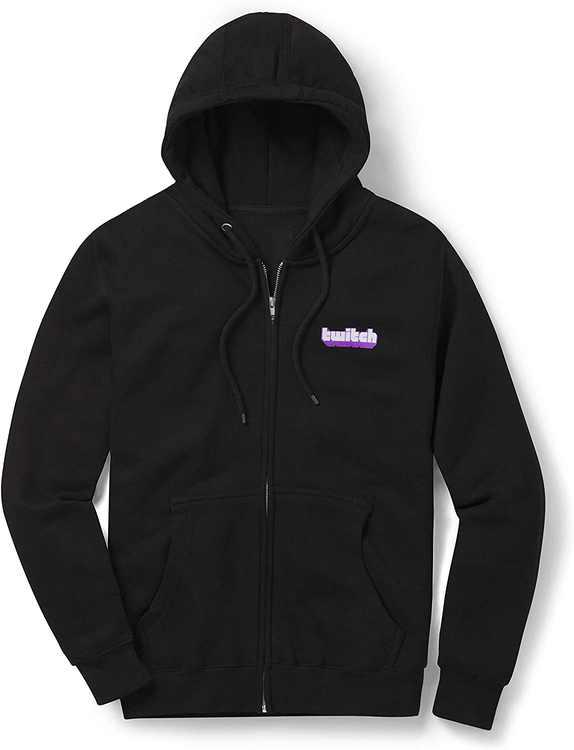 Twitch Extruded Zip Up Hoodie