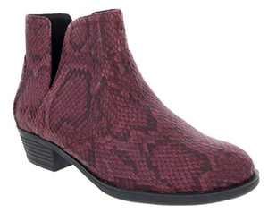 Sugar Booties for Women Treat Womens Ankle Boot Burgundy 7.5