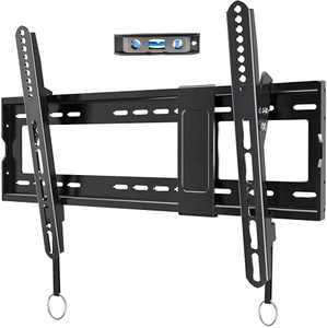 """JUSTSTONE Tilting TV Wall Mount Bracket for Most 32-83 Inches LED LCD OLED 4K Curved Plasma Flat Screen TVs,Tilt Mounting with VESA 600x400mm Holds up to 165 LBS, Fits 16"""",18"""",24""""Studs,Can Be Leveled"""
