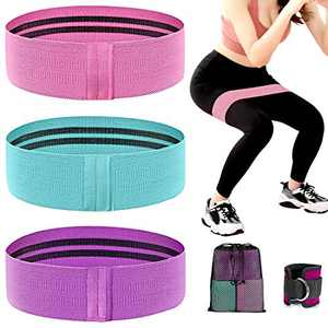 Resistance Bands for Women Butt and Legs, Workout Exercise Fitness Bands for Women Home Gyms Booty Bands for Leg Weights Hip Training(3 Levels)