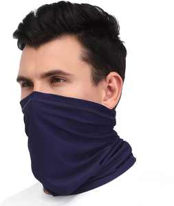 Arcweg Multifunctional Headwear Bandana Neck Gaiter Stretchy Neckwear Neck and Face Scarf Snoods for Men Women Breathable UV Protection Face Warmer Wristband for All Year Round