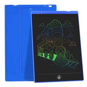 JefDiee Kids Drawing Boards Writing Tablet, 10 Inch Colorful Screen Electronic Learning and Education Drawing Pads Doodle and Scribbler Board Gifts for Girls Boys (Blue)
