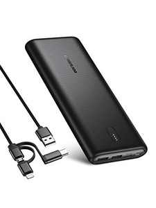 POWERADD PD 30W Power Bank, 26800mAh High Capacity Portable Charger, USB-C Fast Charging Battery Pack with 2 Inputs/ 3 Outputs for iPhone, Samsung Galaxy, Laptop, Tablet, and More
